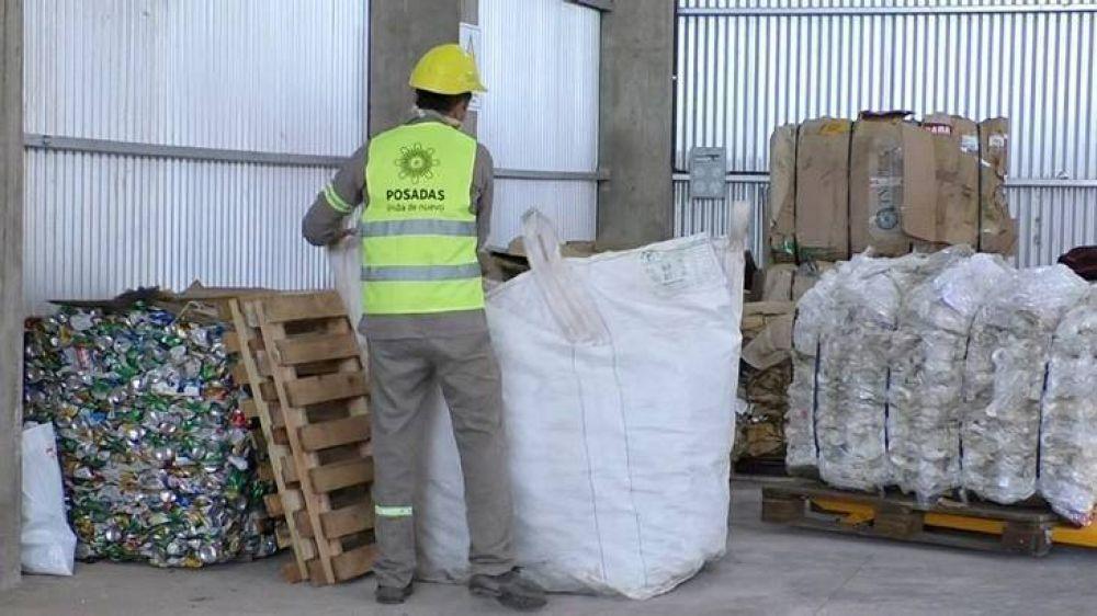 Desde la Planta de Reciclaje de Nemesio Parma alientan a los emprendedores a reutilizar materiales acopiados y contribuir en la economía circular