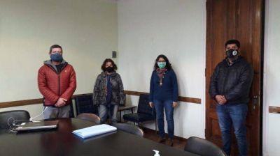Centrales sindicales visitaron el INE y pidieron testear en el instituto
