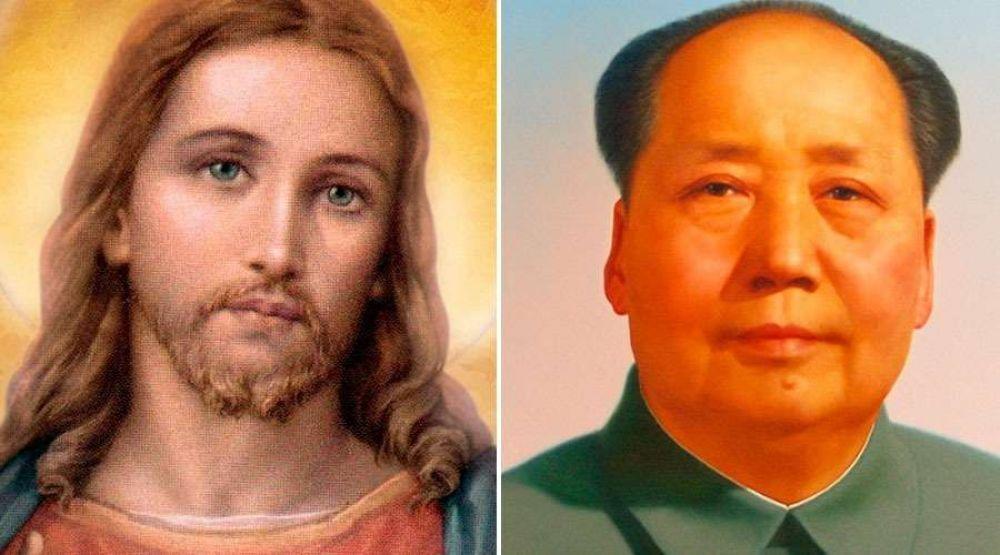Gobierno chino obliga a cristianos a cambiar fotos del Señor Jesús por Mao Tse-Tung