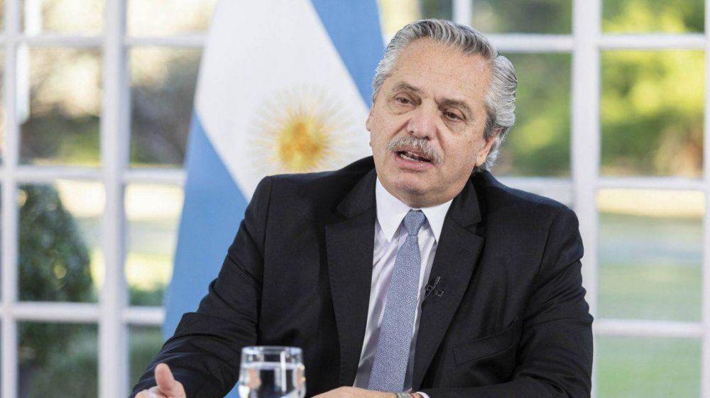 Alberto Fernández a los acreedores: