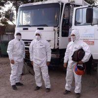 Protocolo para los recolectores de residuos urbanos