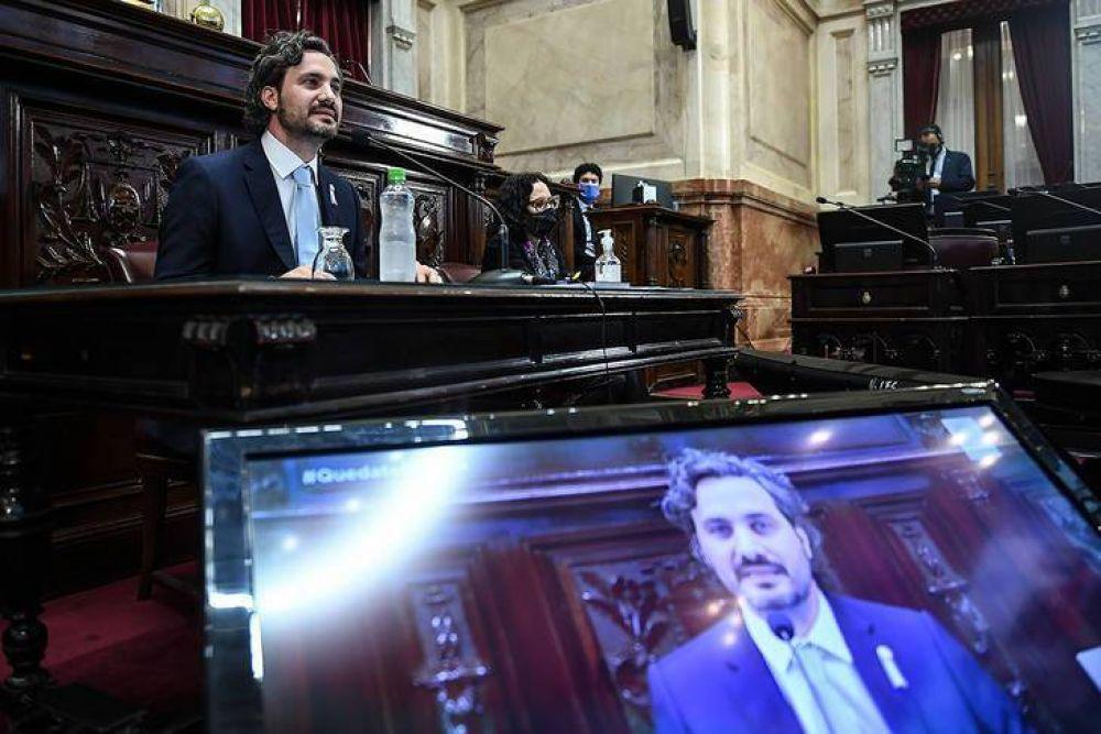 Cafiero debuta en Diputados: dará su informe de gestión y responderá más de 1600 preguntas