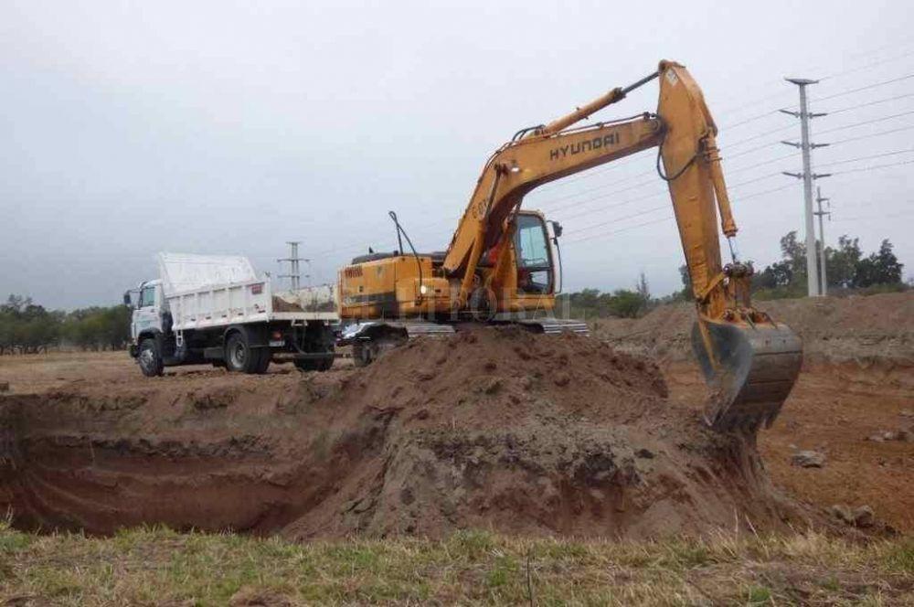 Basura en la Costa: elevan el terreno donde estará la Planta de tratamiento