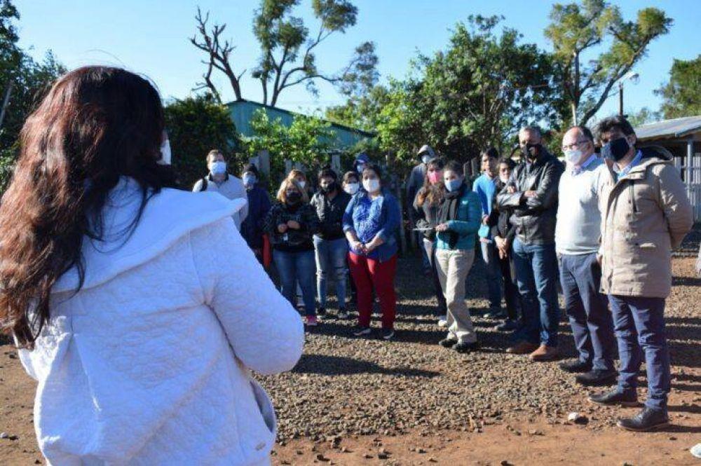 Asentamiento Las Tacuaritas: 150 familias tendrán acceso al servicio de agua potable de manera formal