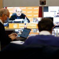 Kicillof se reunió con intendentes del AMBA en la previa de la cumbre con Alberto