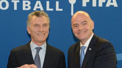 Fundación FIFA: Mauricio Macri manejará más de u$s1.000 millones