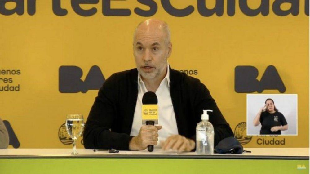 Rodríguez Larreta confirmó que el lunes reabrirán los comercios en las grandes avenidas de la Ciudad