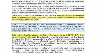 Vicentin: complejo entramado societario y fuerte deterioro patrimonial en apenas 20 meses