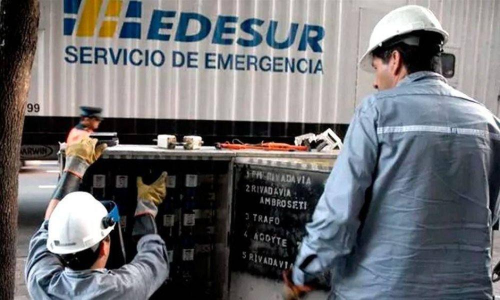 Acuerdo parcial en el conflicto con Edesur y cuentas eléctricas en rojo
