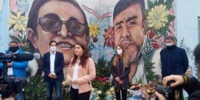 Homenajes a Sandra y Rubén a dos años de la explosión que provocó sus muertes