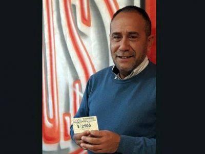 El dirigente de SITOS, Daniel Díaz entre el festejo del Día del Niño y los logros que no se renuncian