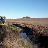 Obras para evitar inundaciones en Sierra de los Padres y El Paraíso