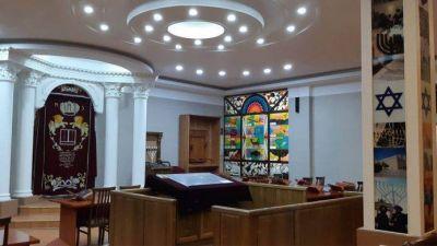 La comunidad judía de Uzbekistán lucha para salvar una sinagoga de 124 años de antiguedad