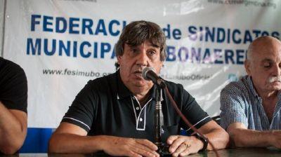 Gremio le pide a los intendentes que imiten a Kicillof y pasen a planta a los municipales