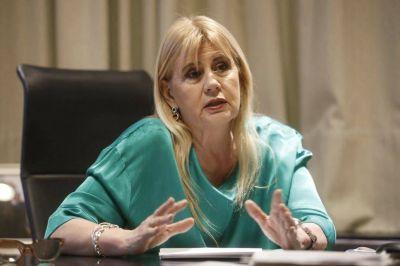 La ministra Marcela Losardo defiende la reforma judicial en el Senado