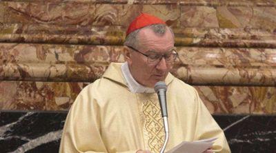 Cardenal Pietro Parolin visita santuario del Santo Cura de Ars