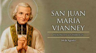 Hoy es fiesta de San Juan María Vianney, el Cura de Ars, patrono de los párrocos
