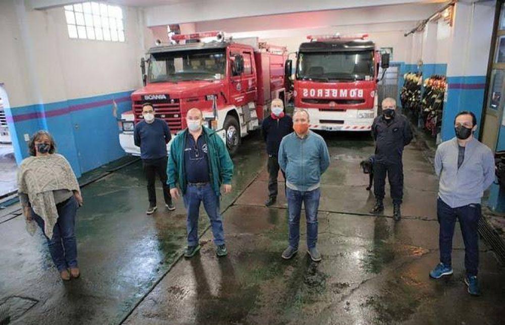 ACUMAR construirá un cuartel de bomberos en Lanús