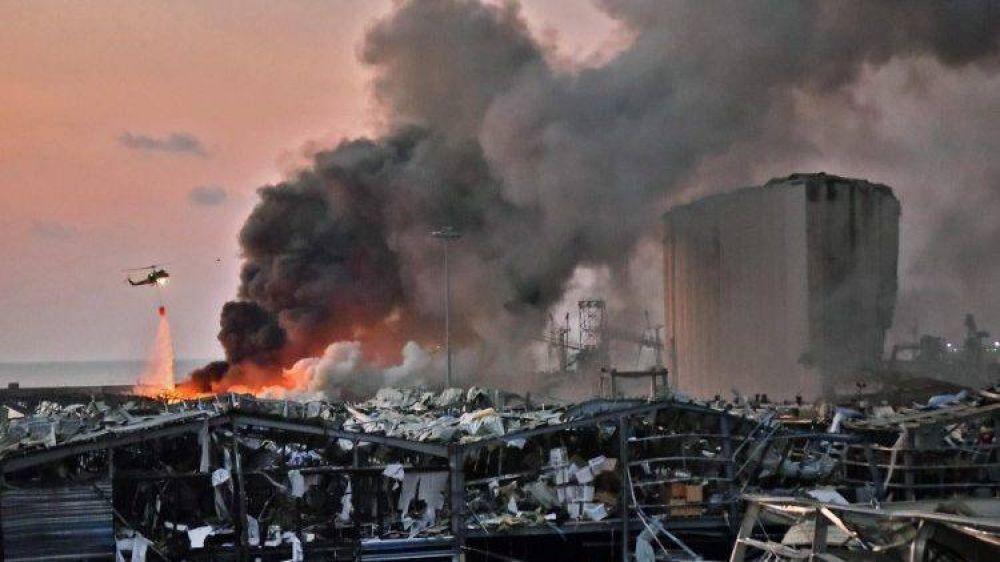 La oración y el llamamiento del Papa por el Líbano en este trágico momento
