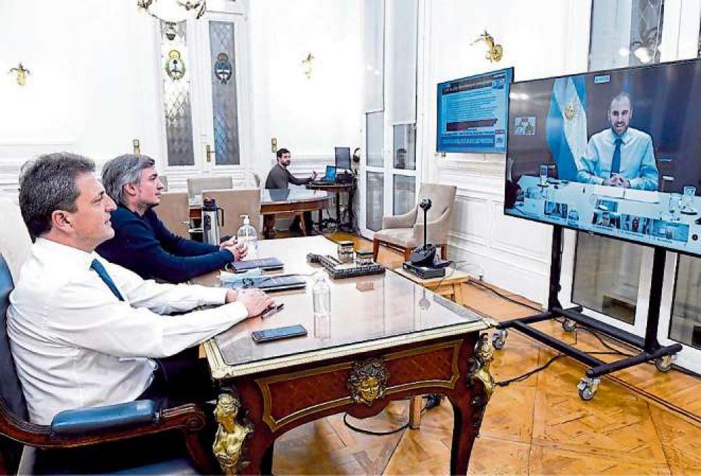 La Casa Rosada y un mensaje para Sergio Massa: el Gobierno quiere que Martín Guzmán sea el único interlocutor con los bonistas