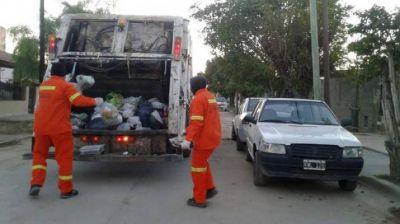 Se modifica el horario de recolección de residuos en la Capital