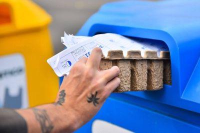 Escobar: durante julio se recolectaron 28.000 kilos de residuos sólidos urbanos para reciclar