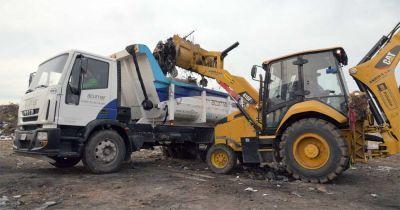 Acumar y el municipio pusieron en marcha un operativo de limpieza del EcoPunto