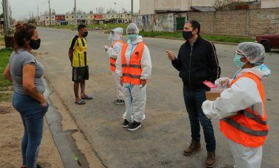 Fernando Gray participó del Plan Detectar en Barrio Federal