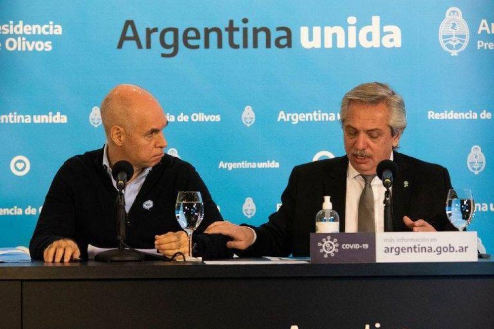 A pesar de las críticas de Alberto Fernández y Cristina Kirchner, Rodríguez Larreta busca evitar una confrontación con el Gobierno