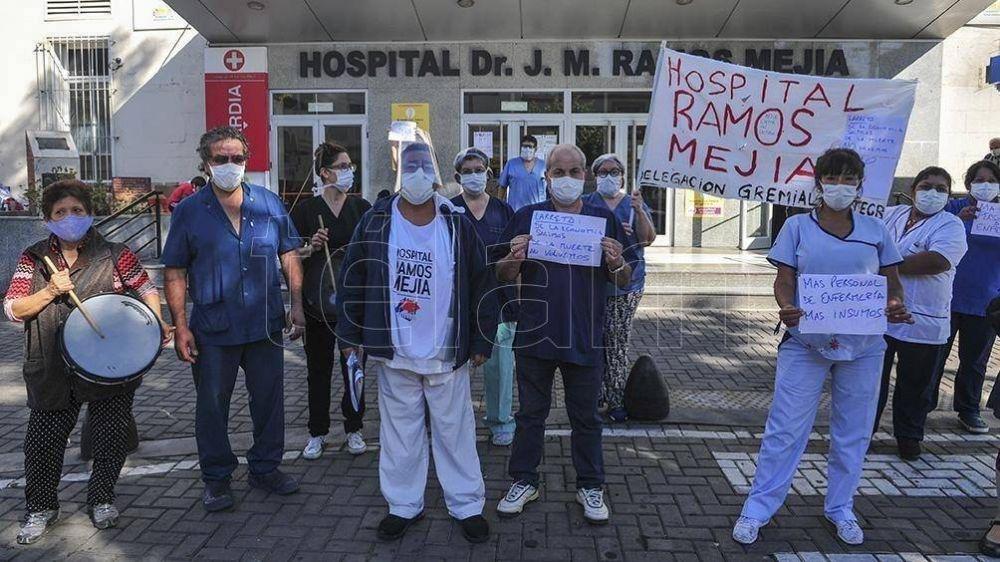 Ordenaron a Rodríguez Larreta que garantice elementos de seguridad al personal de salud