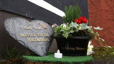 Irlanda: Mensaje del Papa ante la muerte de John Hume