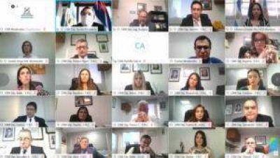 """Digesto jurídico: Rovira firmó un convenio de asistencia técnica con el Concejo de Montecarlo y celebró que más municipios se sumen """"a la búsqueda de una democracia más cercana al ciudadano"""""""