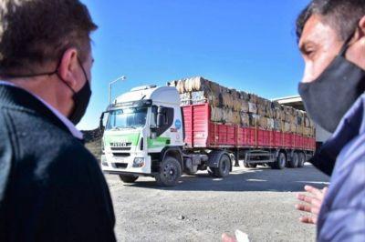 Jáchal: procesaron 187 fardos de plásticos en la planta de residuos