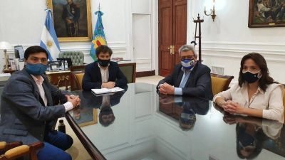Ramón Ayala se reunió con Kicillof y acordaron un plan contra el trabajo informal