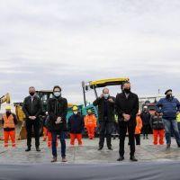 Intendentes de la región participaron del reinicio de obras del Corredor del Atlántico