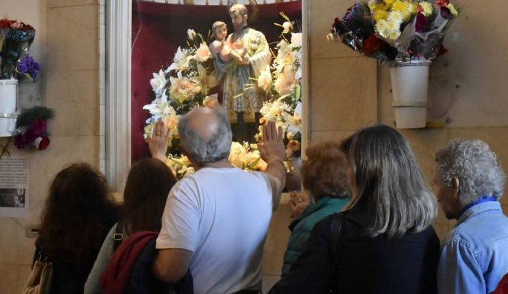 San Cayetano espera a sus fieles de manera virtual