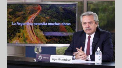 Con anuncio por $ 22.000 millones, el Gobierno apuesta a la obra pública para la reactivación