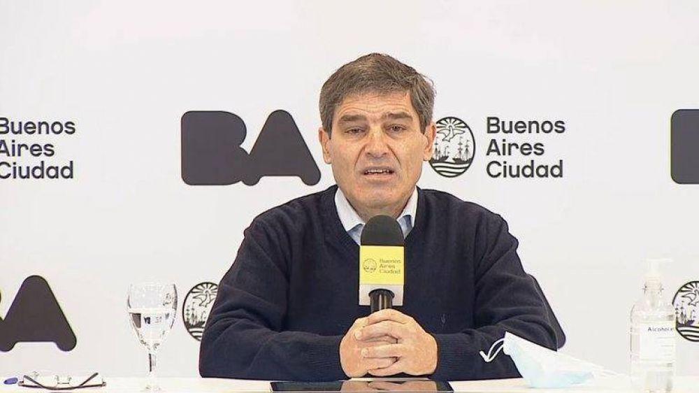 """El ministro de Salud porteño contestó los dichos de Alberto Fernández: """"Es un tema que debería explicar PAMI"""