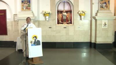 San Cayetano abrió sus puertas virtuales para una jornada de ruegos por pan y trabajo