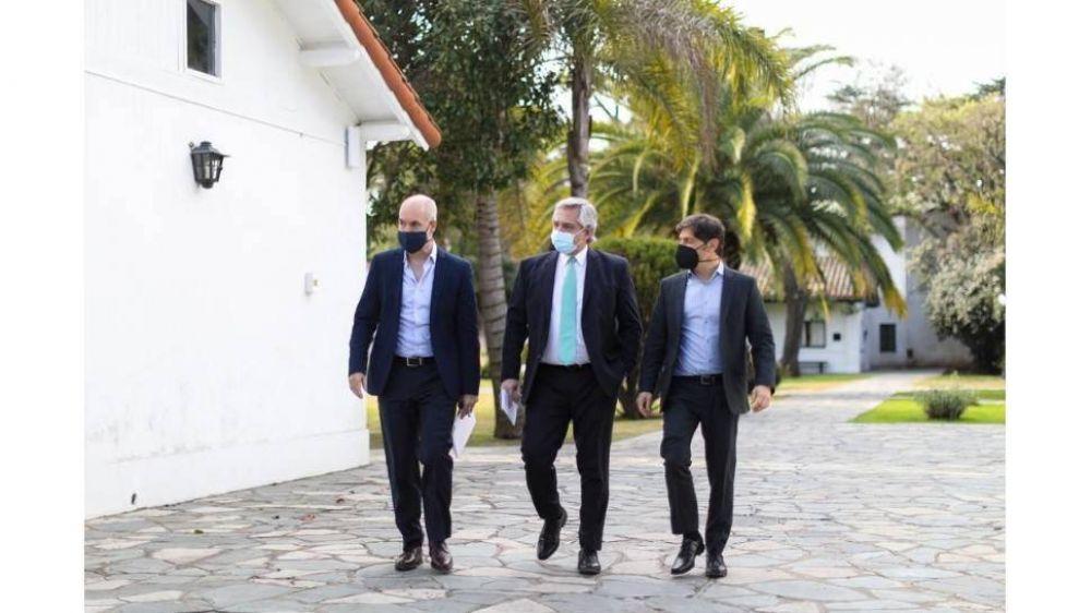 Las encuestas presionan la relación entre Alberto Fernández y Larreta en el pico de la pandemia