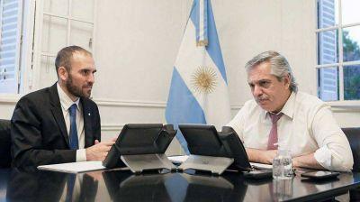 Alberto F da las gracias a Guzmán y a Macri