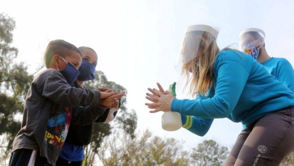 Salidas Saludables: intensa jornada de concientización en espacios verdes