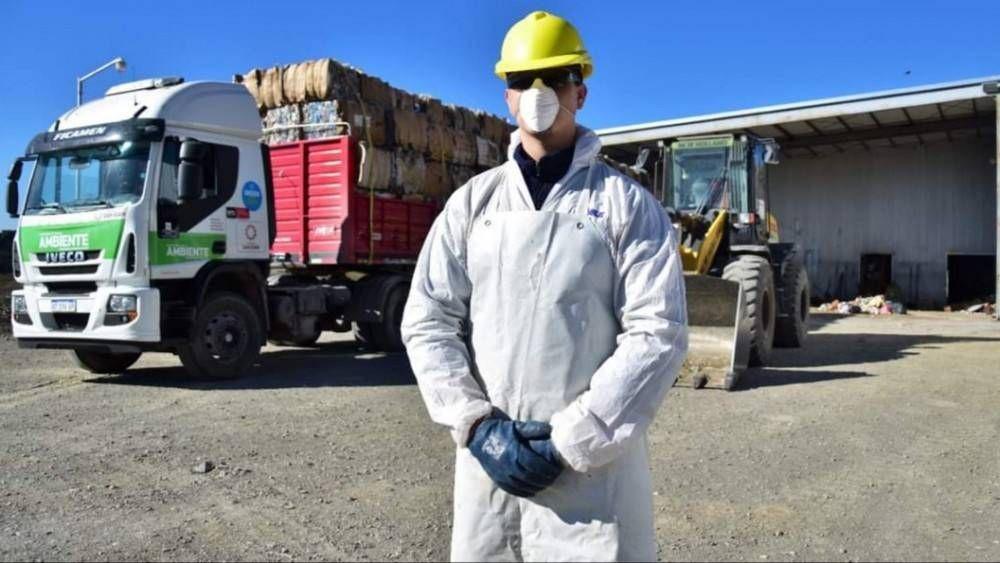 Los Centros de Residuos Regionales recolectaron 500 mil kilos de material reciclables