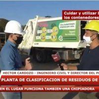 Posadas sustentable: cómo es el proceso de clasificación de los residuos en la planta de Parma