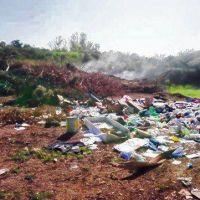 Andino: conflicto por la propiedad de un terreno donde se formó un basural
