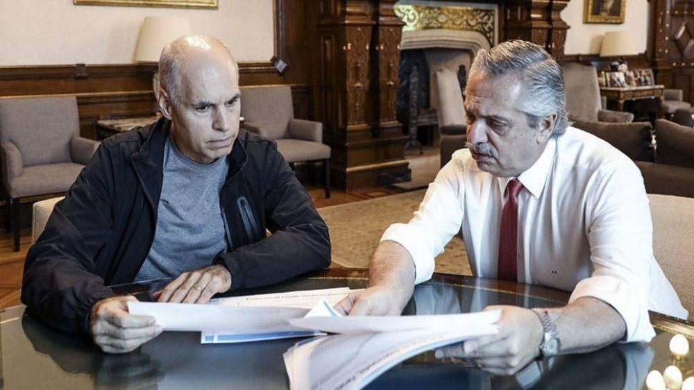 La política le puso punto final a la relación entre Fernández y Rodríguez Larreta