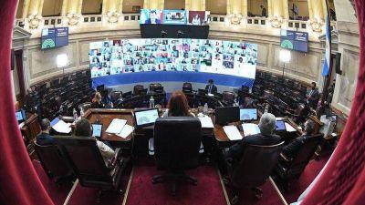 El oficialismo buscará avanzar con tres proyectos clave en el Senado, en un clima de tensión con la oposición