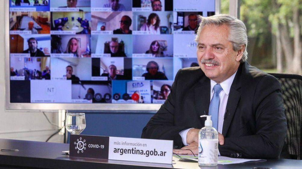 Alberto Fernández anunció políticas para el desarrollo de la obra pública con perspectiva de género