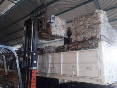Puerto Santa Cruz despachó 20 mil kilos de material reciclado