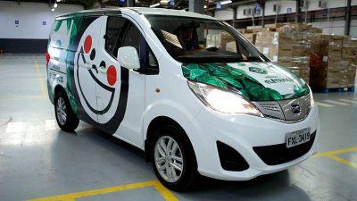 En Brasil PepsiCo inicia pruebas con furgoneta 100% eléctrica no contaminante